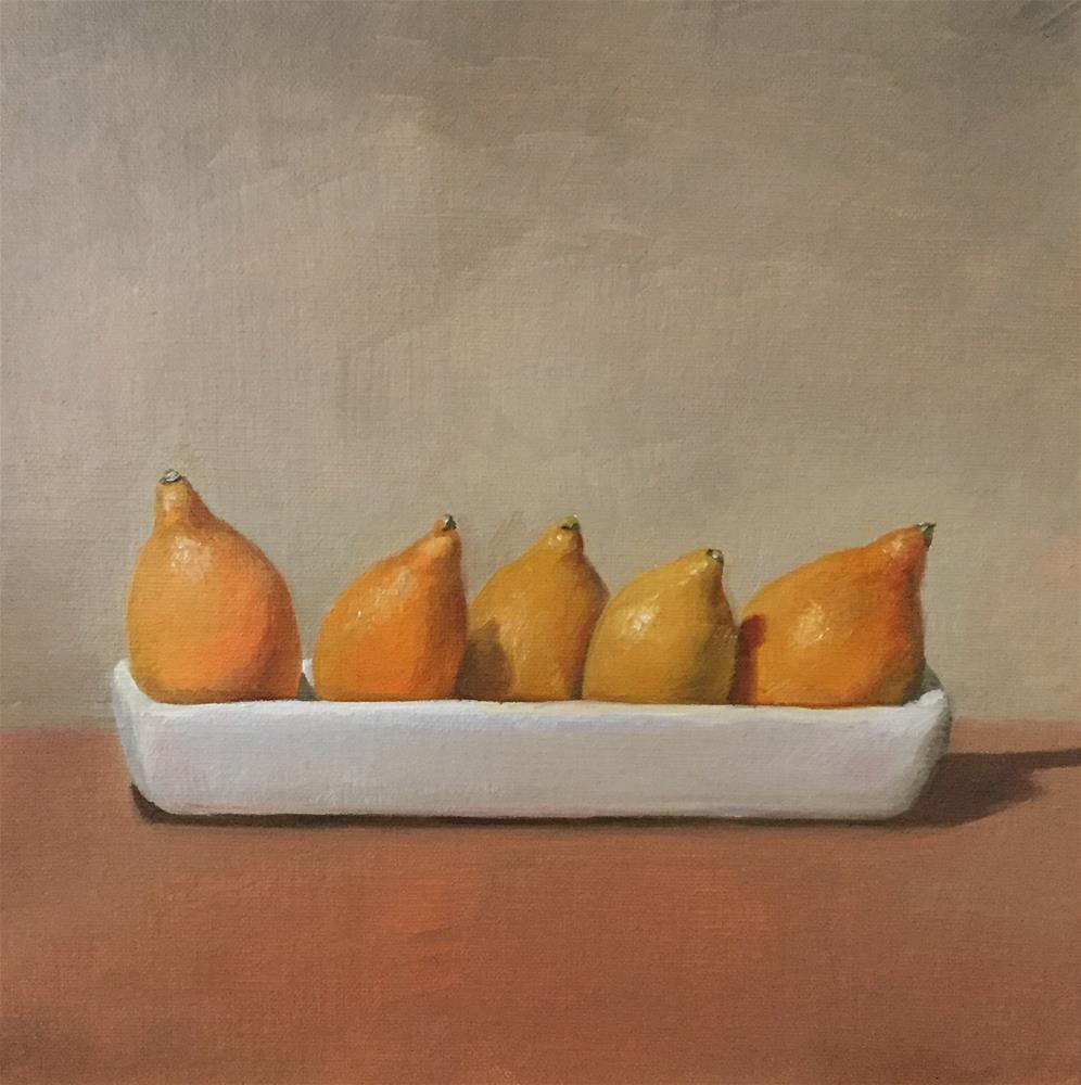 """""""Centennial Kumquats"""" original fine art by Naomi Hughes"""