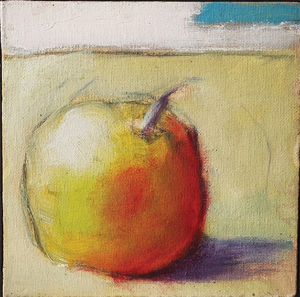 """SmallApple"" original fine art by Jack Jones"