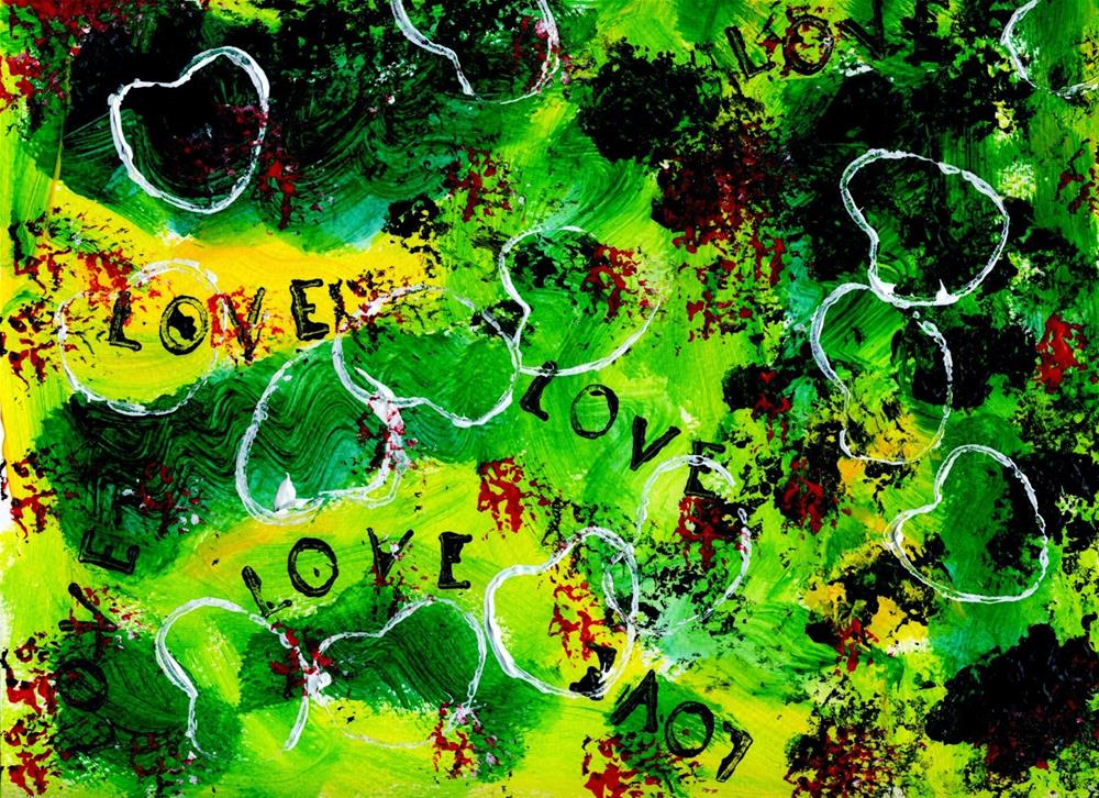 """Love is Loud"" original fine art by Kali Parsons"