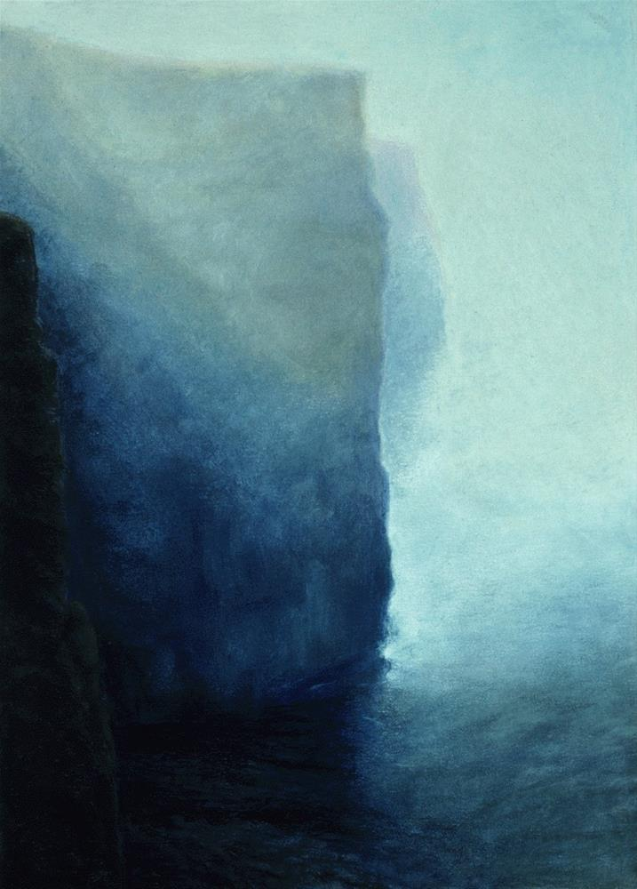 """Cliffs of Moher"" original fine art by Joe Fitzgerald"