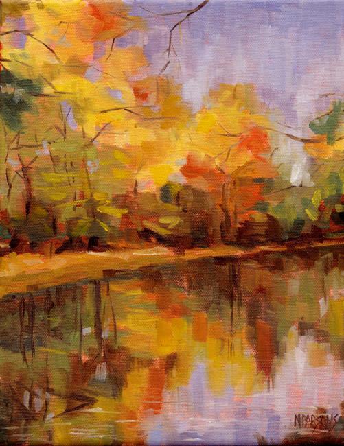 """""""Show Your True Colors"""" original fine art by Nancy Parsons"""