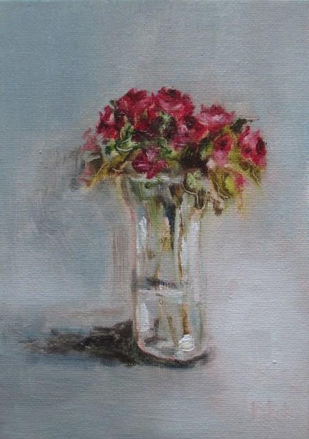 """Daily painting #719 Beautifully boring"" original fine art by Heidi Shedlock"