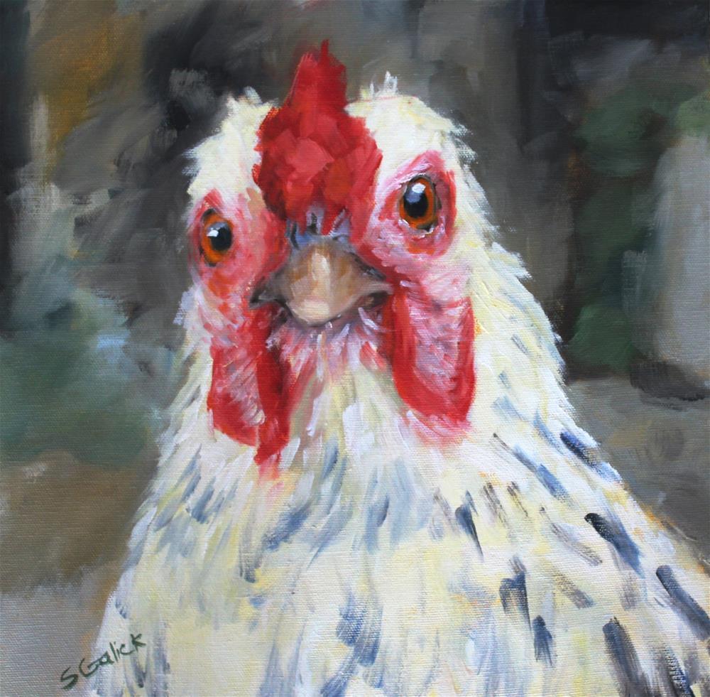 """""""Bewildered"""" original fine art by Susan Galick"""