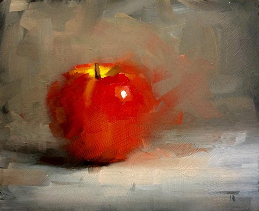 """A&B series: 6. Red dreamer"" original fine art by Thomas Ruckstuhl"