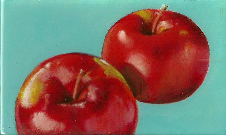 """Apples"" original fine art by Stuart Graham"