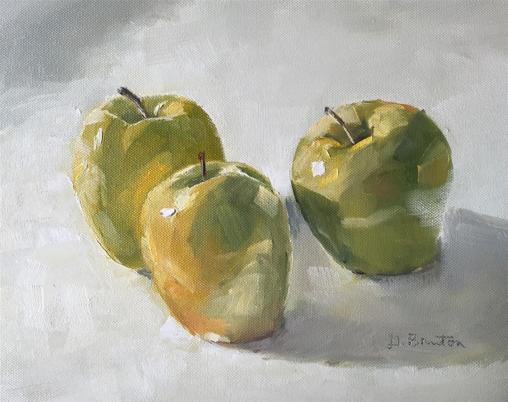 """Golden Delicious"" original fine art by Gary Bruton"
