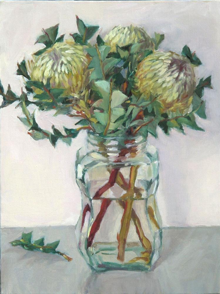 """""""Banksias"""" original fine art by Myriam Kin-Yee"""
