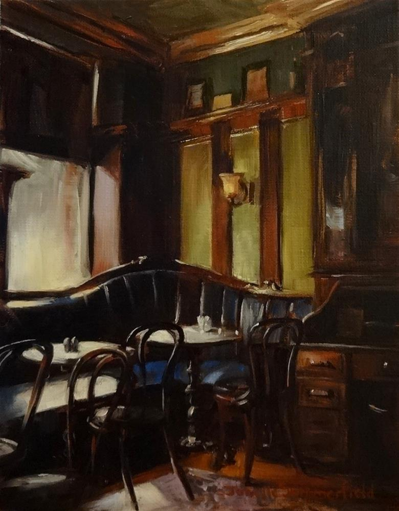 """Quiet Day at the Pub"" original fine art by Jonelle Summerfield"