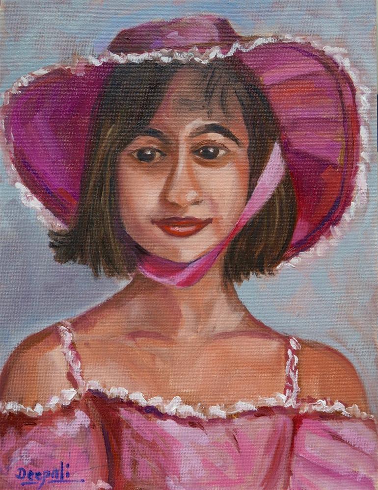 """""""Eeshika"""" original fine art by Dipali Rabadiya"""