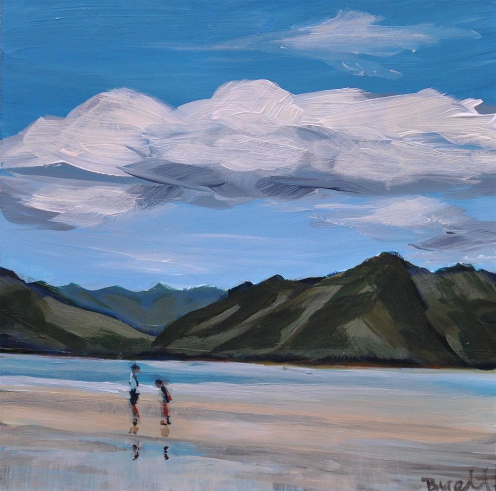 """Kaneohe Bay Sand Bar"" original fine art by Shari Buelt"