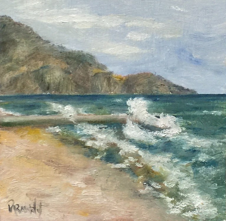 """Beaulieu Sur Mer"" original fine art by Stephanie Drawdy"