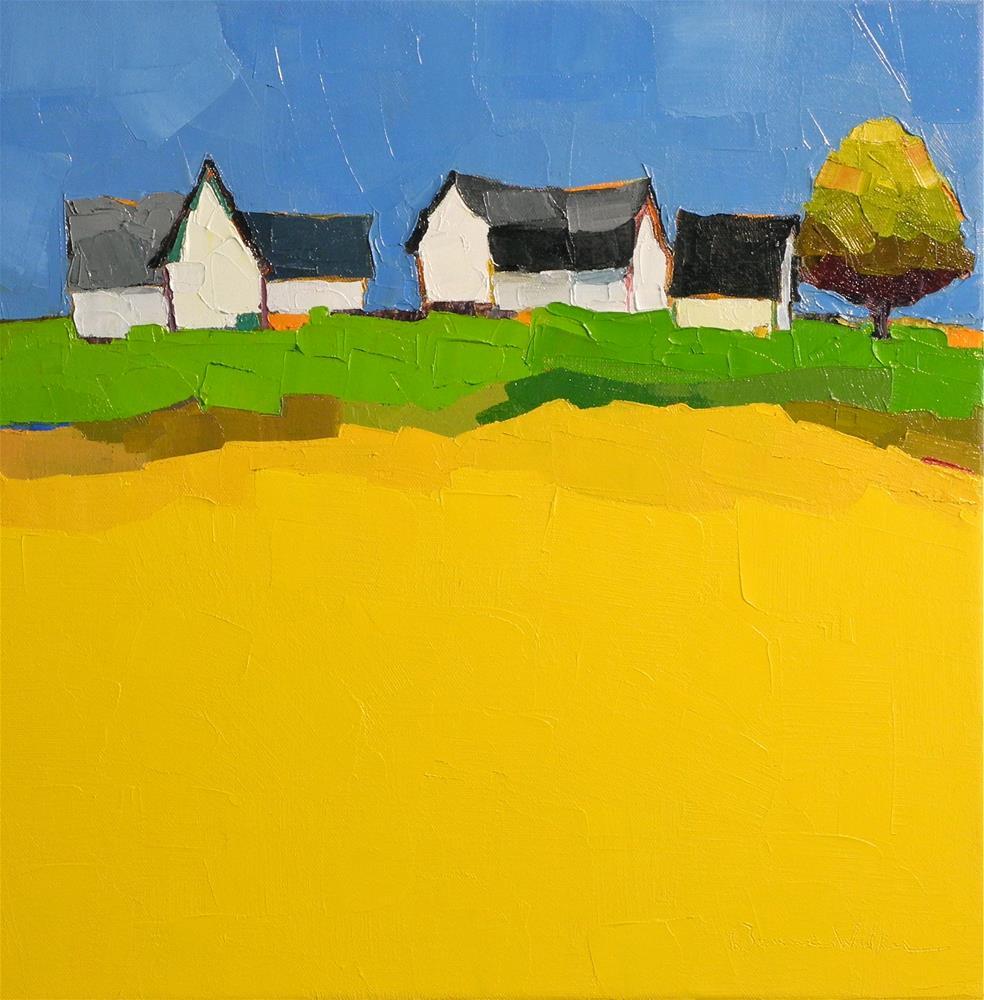 """Rural Suite II"" original fine art by Donna Walker"