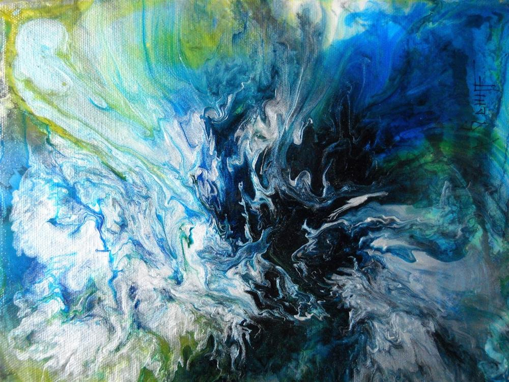 """""""ABSTRACTIONS!!, Abstract Paintings, Daily Paintings. daily painter"""" original fine art by Carol Schiff"""