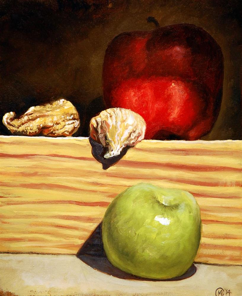 """""""Apples and Figs"""" original fine art by Maurice Morgan II"""