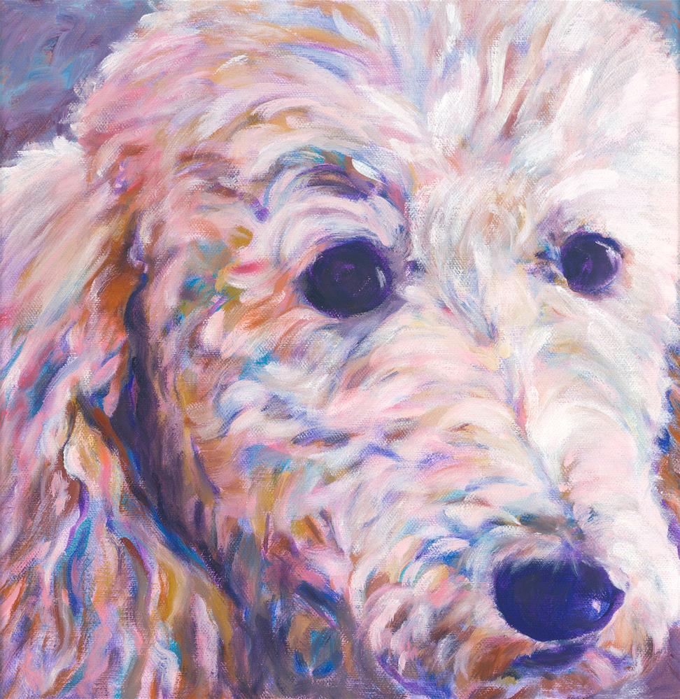 """My Name is Barbra"" original fine art by Karen Gehse"