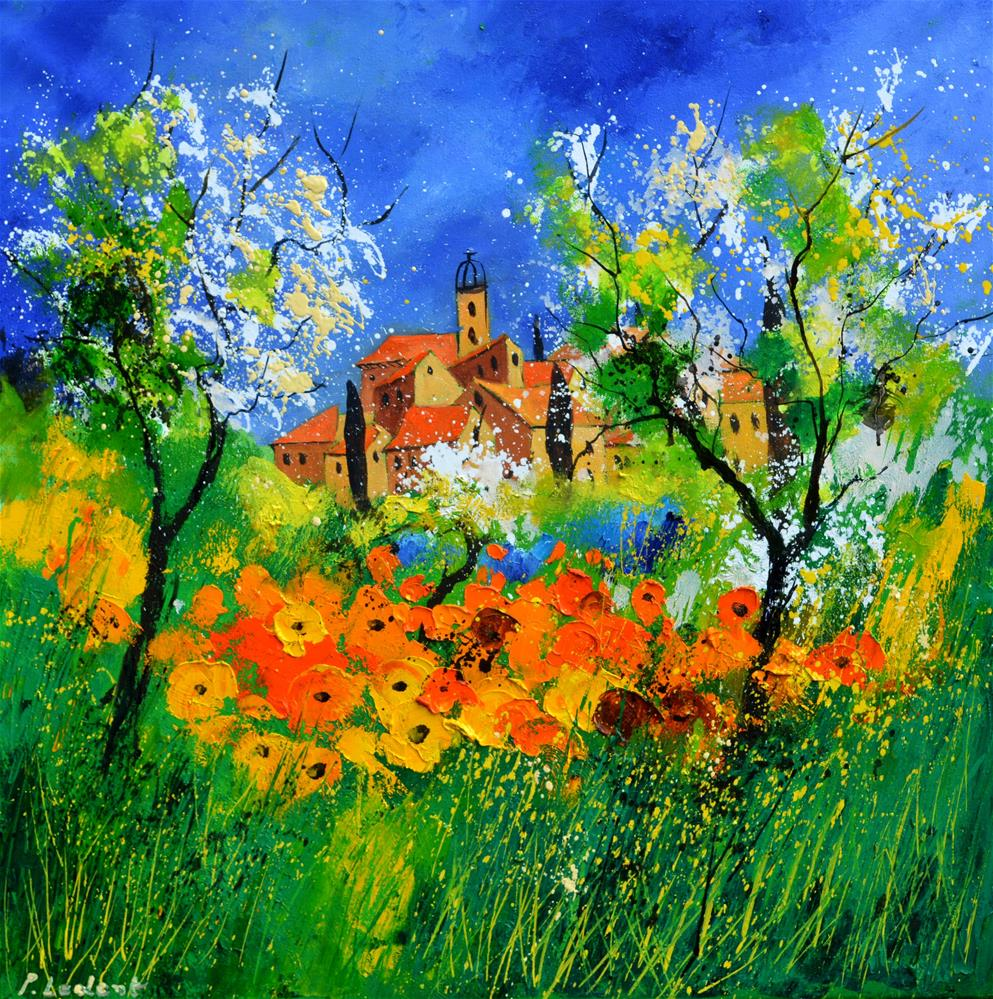 """Provence 776180"" original fine art by Pol Ledent"