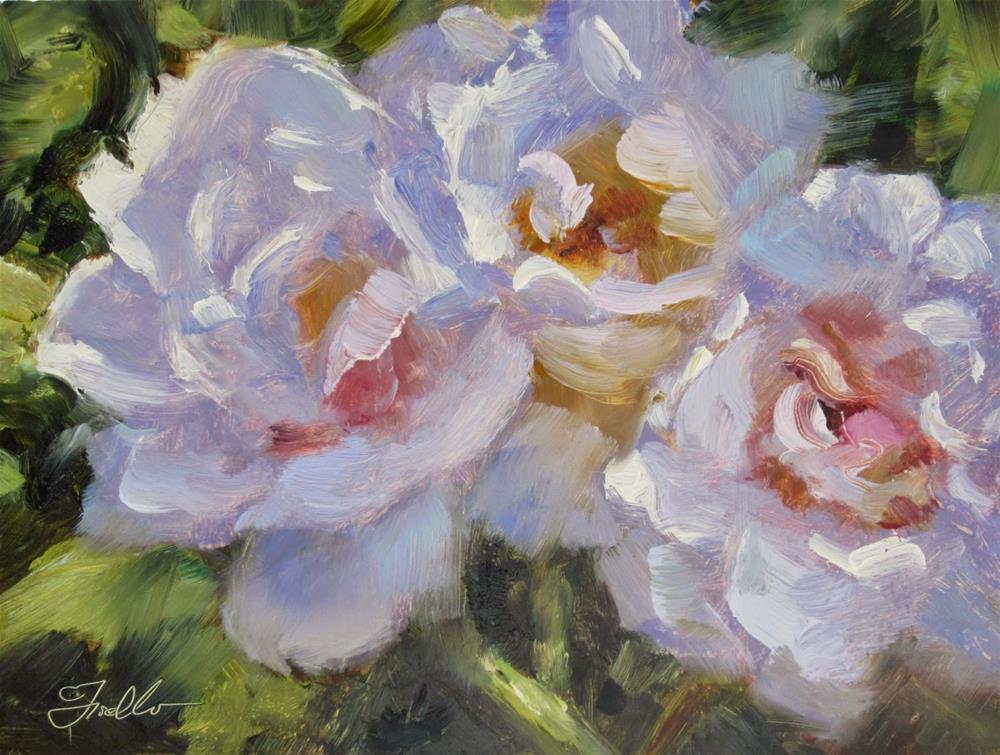 """""""Sun Kissed"""" original fine art by Pat Fiorello"""