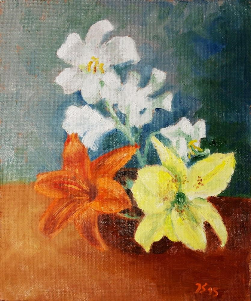 """lily"" original fine art by Yuriy Semyonov"