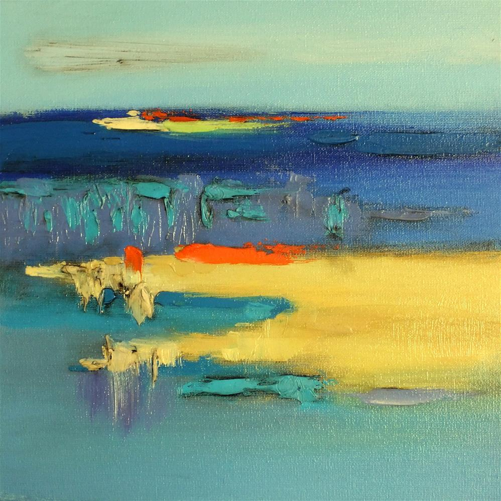 """Landscape 296"" original fine art by Ewa Kunicka"