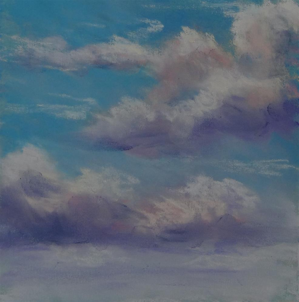"""Sky #14"" original fine art by Denise Beard"