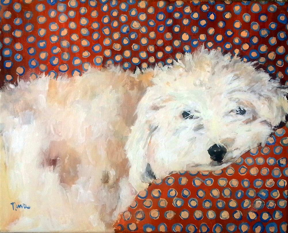 """Max"" original fine art by Nava Judith"