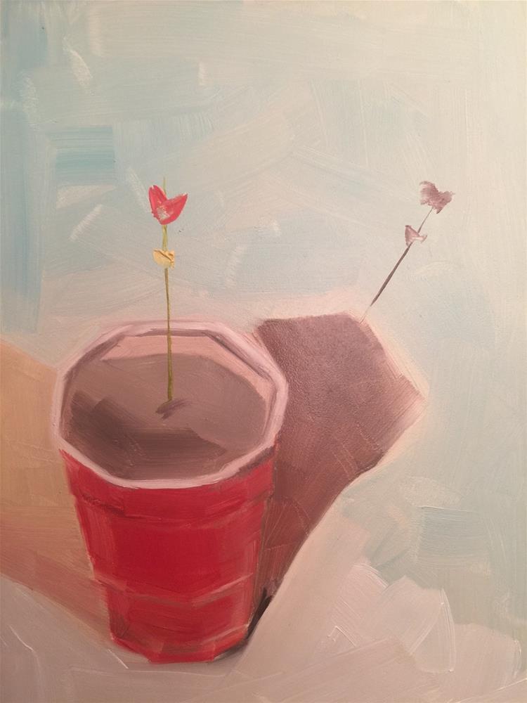 """380 Solo"" original fine art by Jenny Doh"