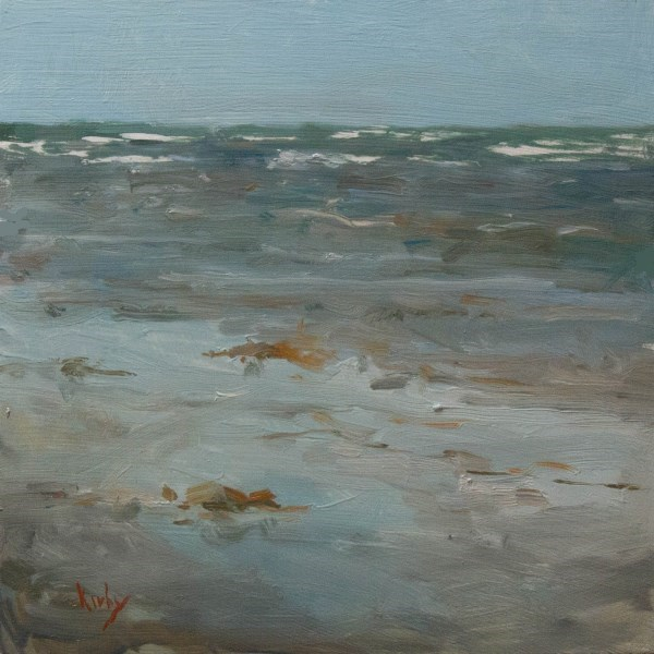 """Washed Ashore"" original fine art by Randall Cogburn"