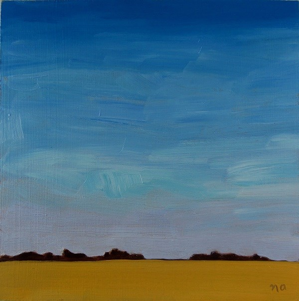 """Clear Day In Saskatchewan"" original fine art by Nicki Ault"