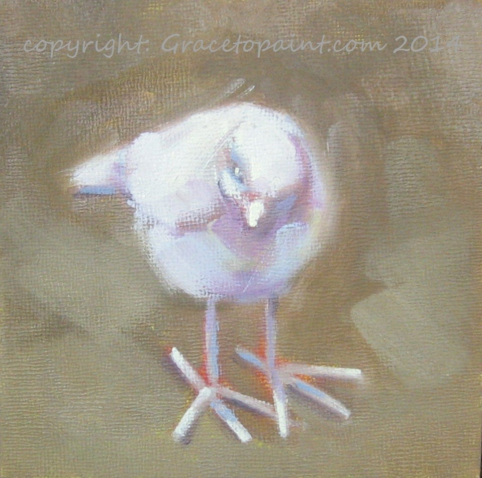 """Happy Feet"" original fine art by Maresa Lilley"
