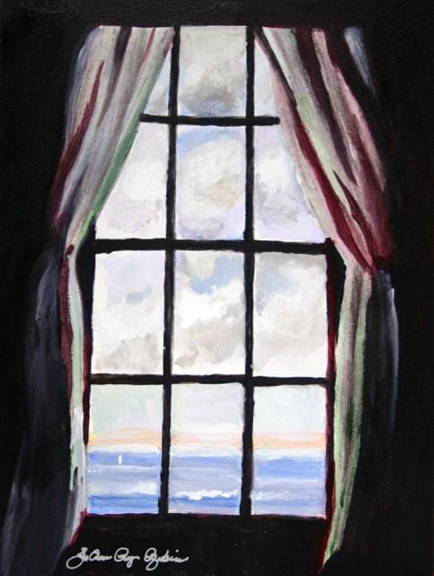 """The Look See"" original fine art by JoAnne Perez Robinson"