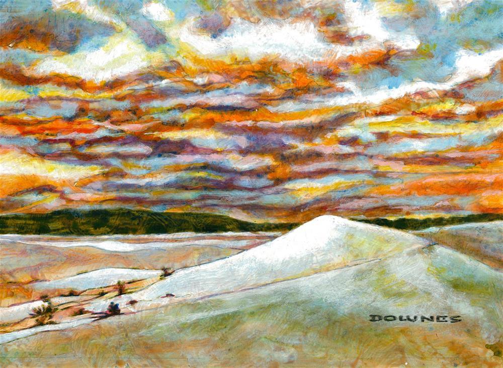"""235 FRASER ISLAND 2"" original fine art by Trevor Downes"
