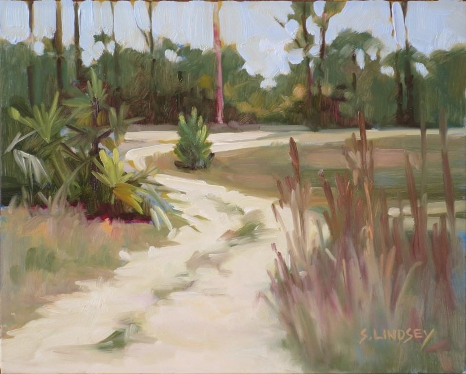 """""""Okeeheelee"""" original fine art by Susan Lindsey"""