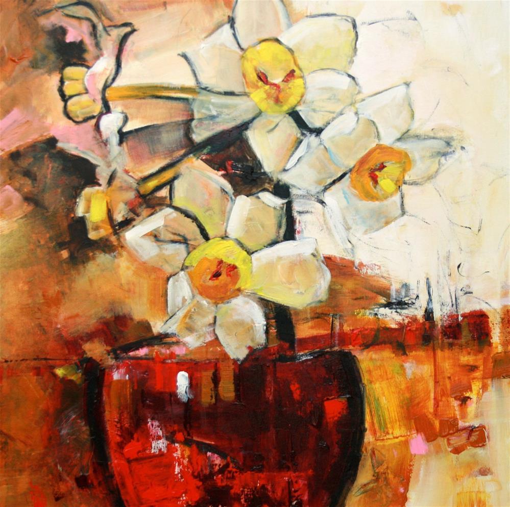 """""""Daffa"""" original fine art by Elizabeth Chapman"""