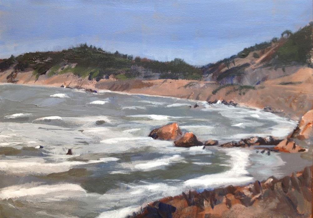 """Seascape"" original fine art by Gary Bruton"