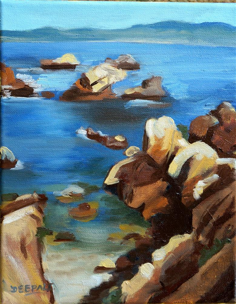 """The Rocks"" original fine art by Dipali Rabadiya"