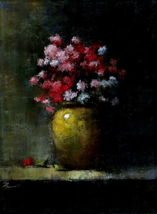 """Carnations"" original fine art by Bob Kimball"