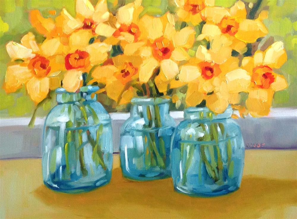 """Best of Spring"" original fine art by Libby Anderson"