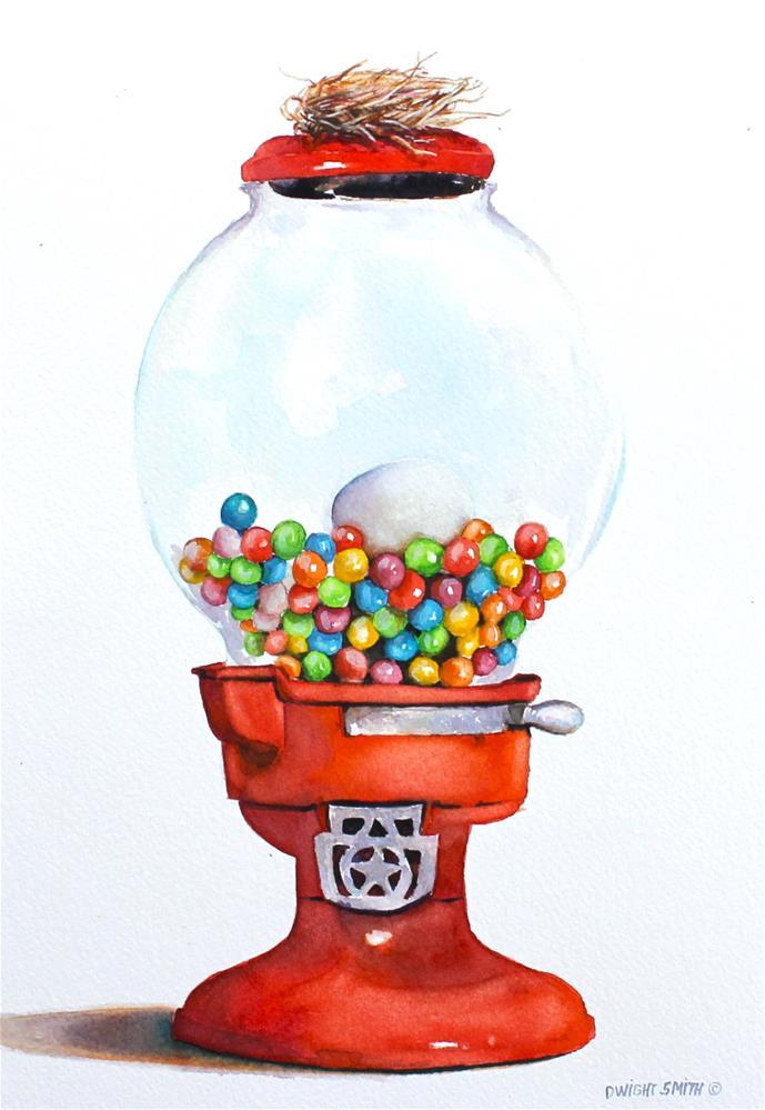 """ RETIREMENT "" original fine art by Dwight Smith"