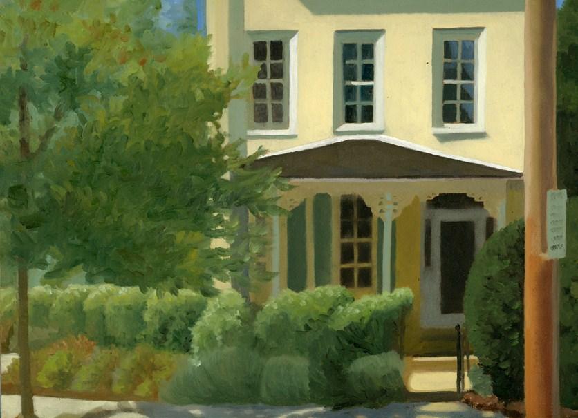 """Sunny House"" original fine art by Nancy Herman"