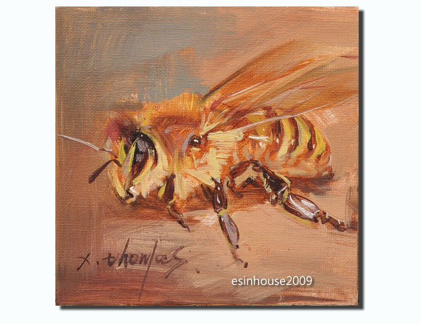 """bee"" original fine art by Thomas Xie"