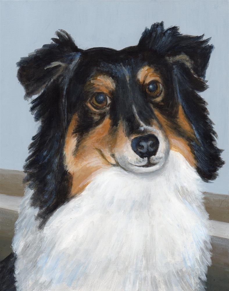"""Bella"" original fine art by Debbie Shirley"