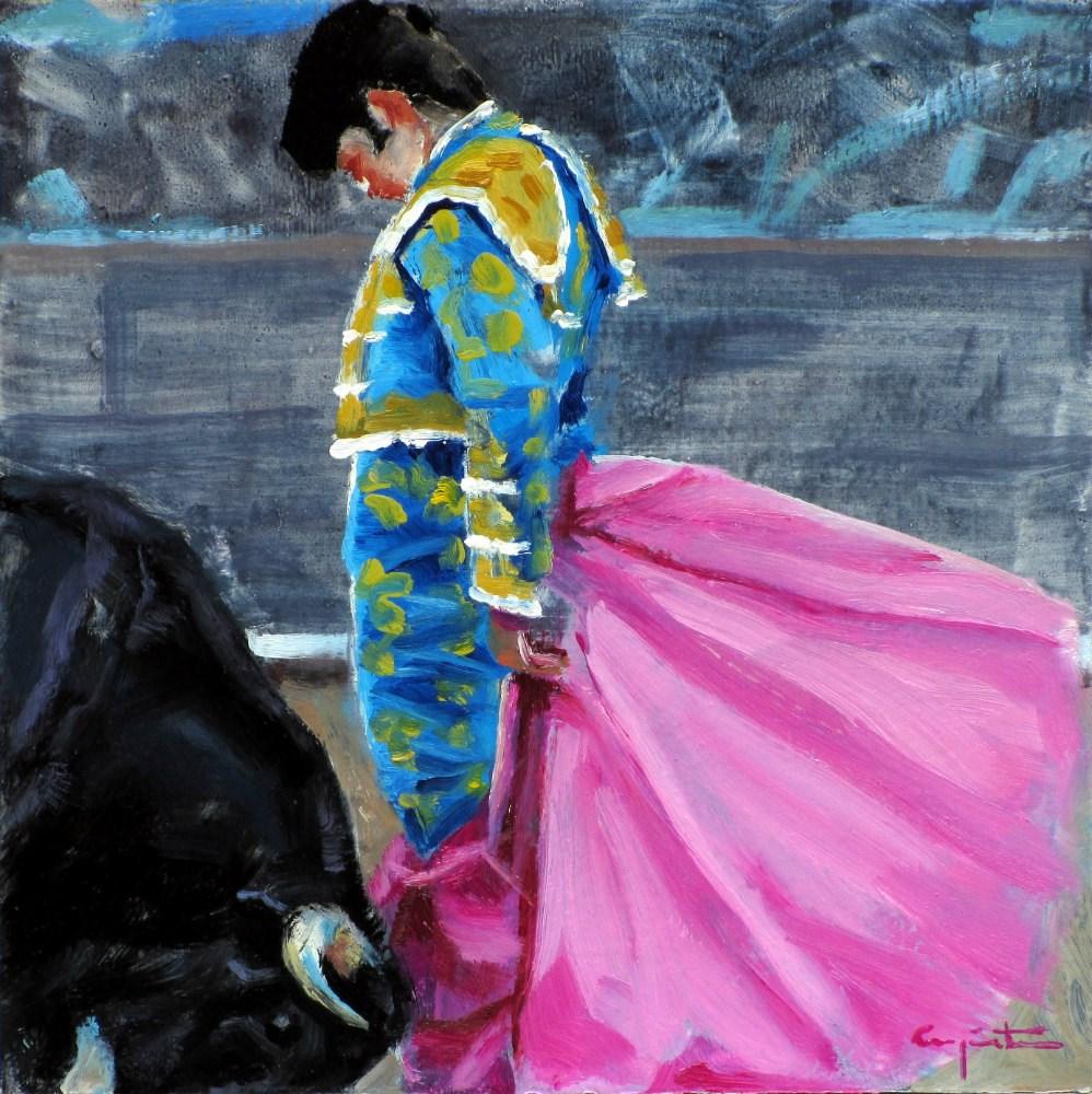 """""""Airoso remate"""" original fine art by Eduardo Carpintero"""