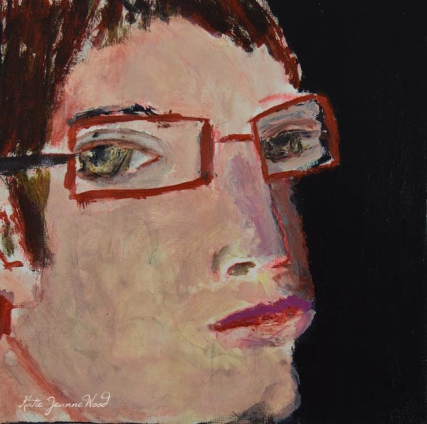 """Chris"" original fine art by Katie Jeanne Wood"