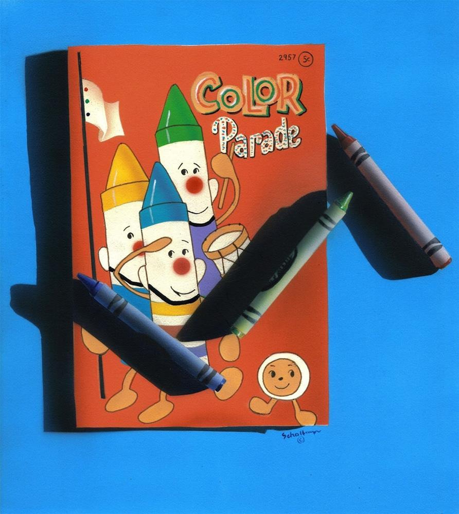 """Color Parade"" original fine art by Fred Schollmeyer"