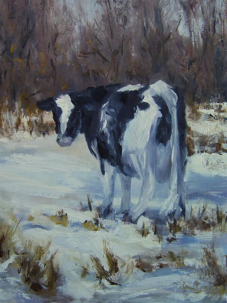 """Winter Neutrals"" original fine art by kay  keyes farrar"