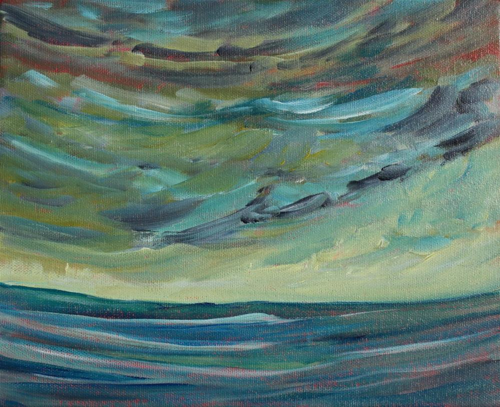 """High Seas"" original fine art by Sage Mountain"