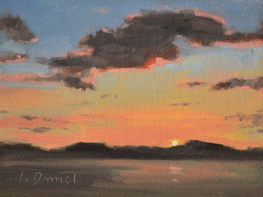 """Daybreak"" original fine art by Laurel Daniel"