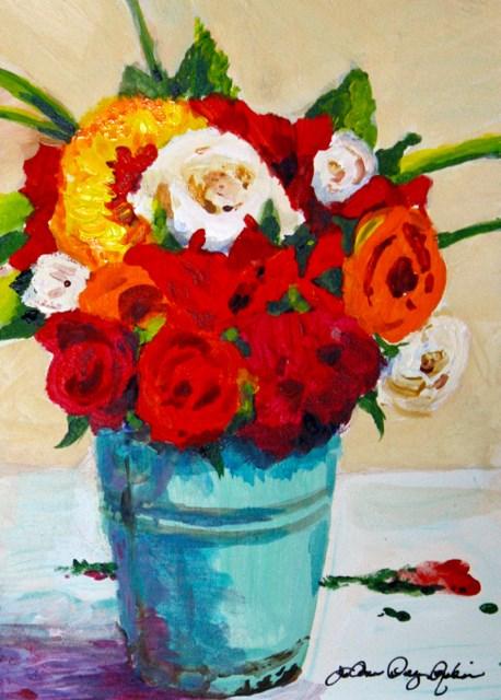 """It's What's Inside That Matters"" original fine art by JoAnne Perez Robinson"