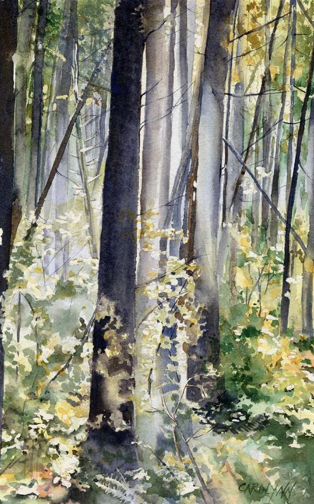 """Spirit of the Forest"" original fine art by Carolynn Doan"