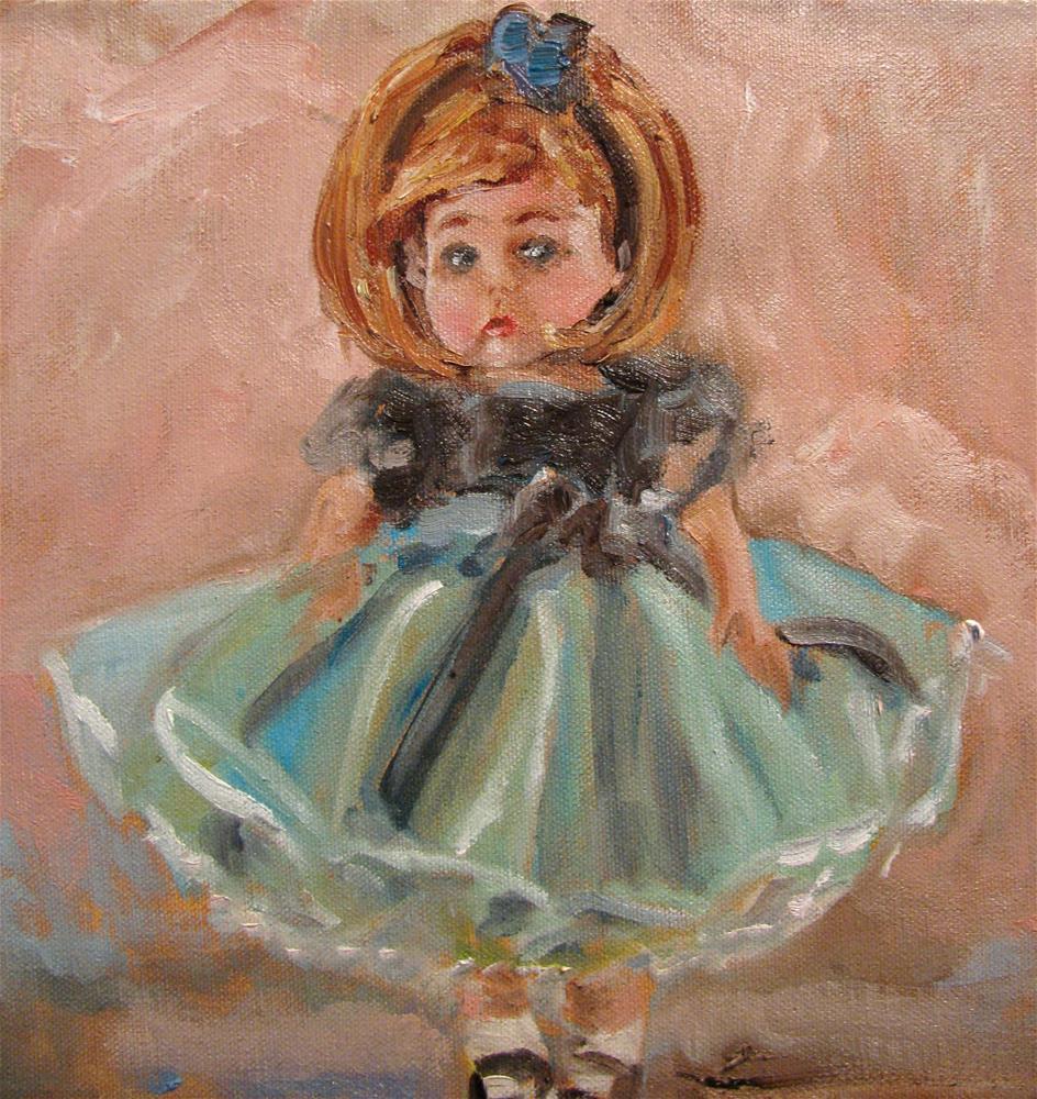 """Wendy's Musical Recital"" original fine art by Susan Elizabeth Jones"